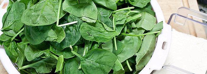 O espinafre contém mais nutrientes por calorias do que qualquer outro alimento na face da terra!