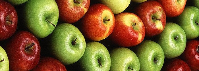 A maçã também é uma excelente fonte de vitamina C!