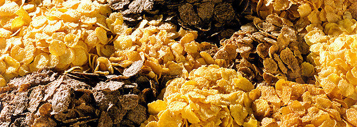 Os carboidratos encontrados em cereais matinais são os grãos refinados e super processados, com altas taxas de açúcar