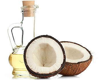 O óleo de coco é rico em gorduras saturadas, antibacterianas e antifúngicas