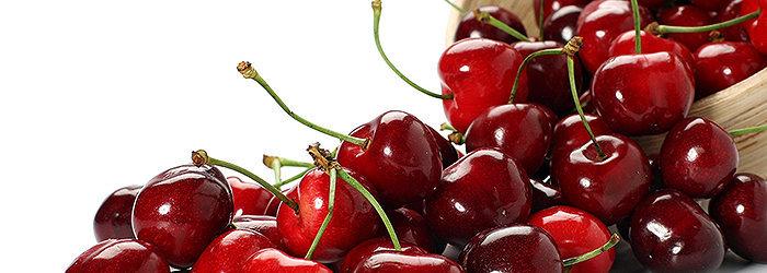 As cerejas são cheias de antioxidantes