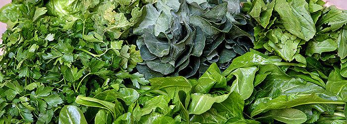 Como regra geral, você deve comer pelo menos cinco porções de vegetais verdes por dia
