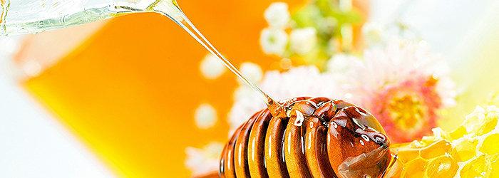 O número de calorias encontrados tanto mel quanto no açúcar de mesa é semelhante.