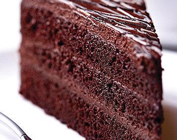 Incrível bolo suflê de chocolate meio amargo
