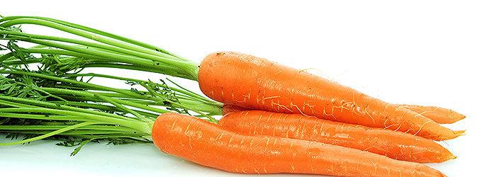 A cenoura é um vegetal rico em antioxidantes, betacaroteno e vitamina A.