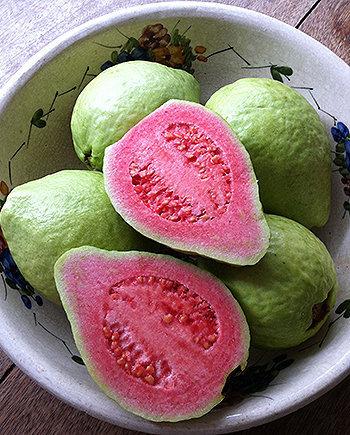 Nutrientes da goiaba, como a vitamina C, carotenoides e o potássio, fortalecem e tonificam o sistema digestivo.