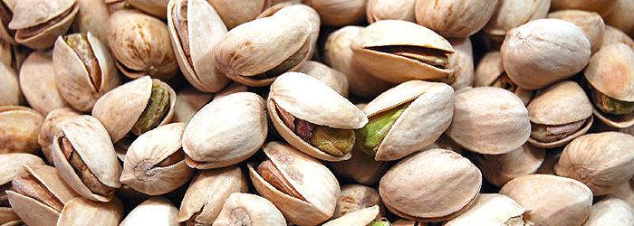 Cerca de 100 gramas de sementes de pistache contém apenas 570 calorias.