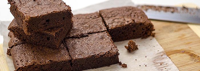Um delicioso Brownie funcional (zero açúcar)