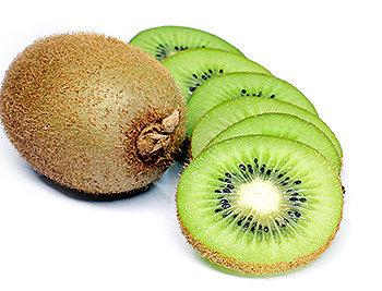 O kiwi possui pectina, uma fibra importante para controlar os níveis de colesterol no sangue.