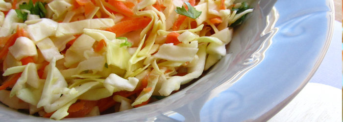 Salada de Cenoura com Repolho