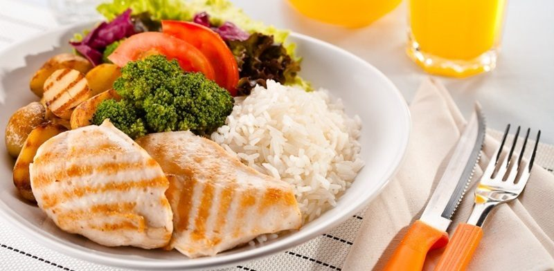 Dieta Para Ganhar Massa Muscular prato